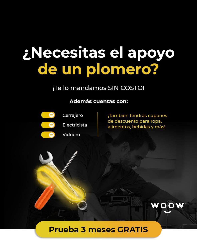 Banner principal de WOOW - Promoción